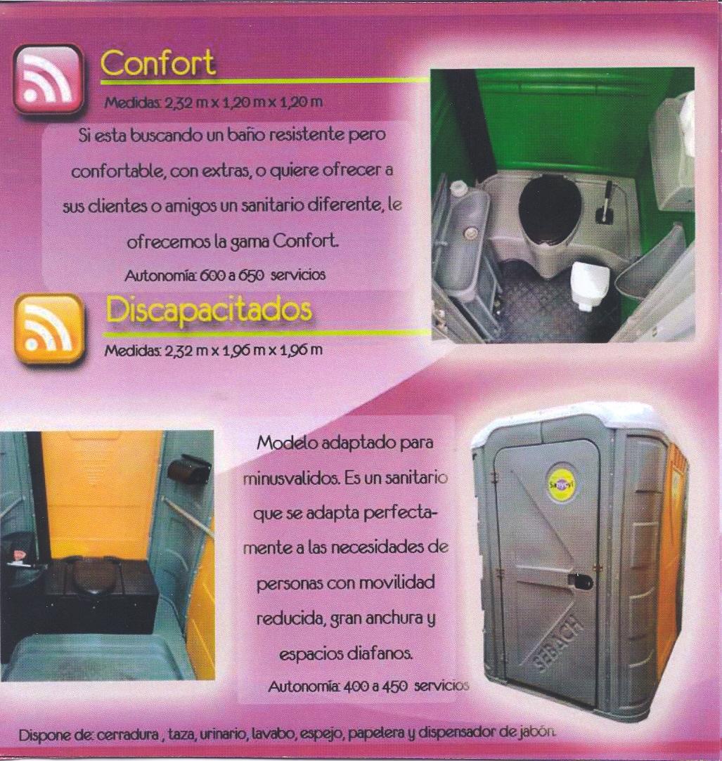 Modelo Confort - Modelo Discapacitados